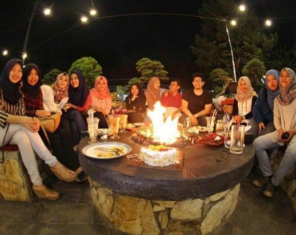 campfire outdoor cuisine malang