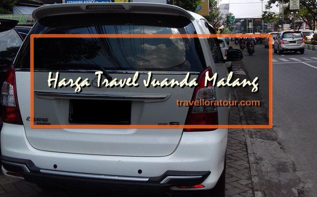 Tips Harga Travel Juanda Malang