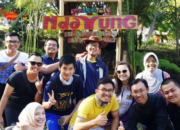 Spot Arum Jeram Malang - Ndayung Rafting