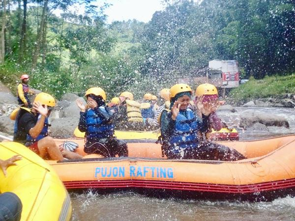 Spot Rafting di Malang - Pujon Rafting