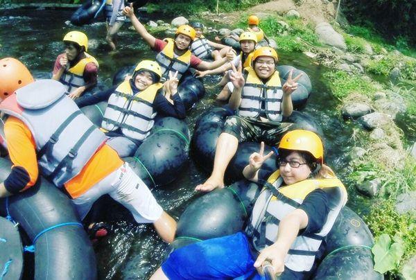 Spot Rafting di Malang - Sungai Amprong
