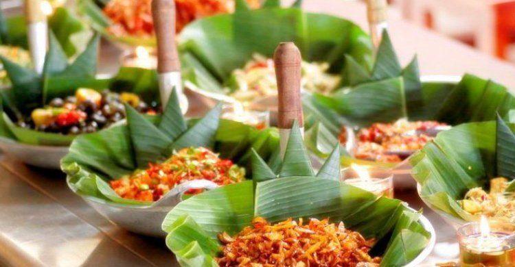 Makanan Khas Bali - Nasi Tepeng